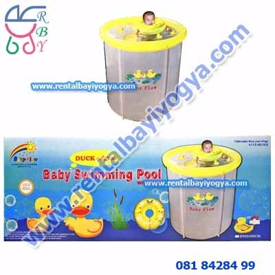 BP03. KOLAM BAYI BABY SPA SWIMMING POOL TRANSPARANT