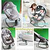 BS24. BABY SWING COCOLATTE SNUGGLI DARK GREY