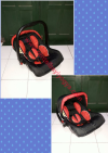 CS39. INFANT CARSEAT LABEILLE MERAH