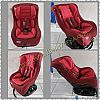 CS01. INFANT TO TODDLER CARSEAT ALDA CARE BABY RED
